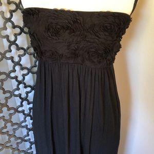 SOMA size S black maxi dress